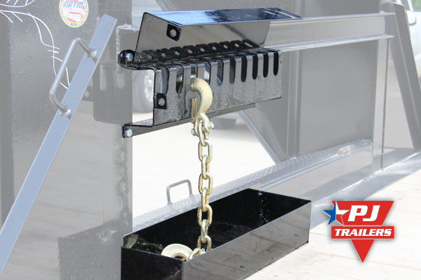 PJ Trailers chain rack
