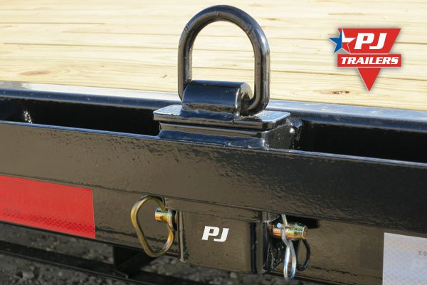 Mounted PJ Trailers D ring