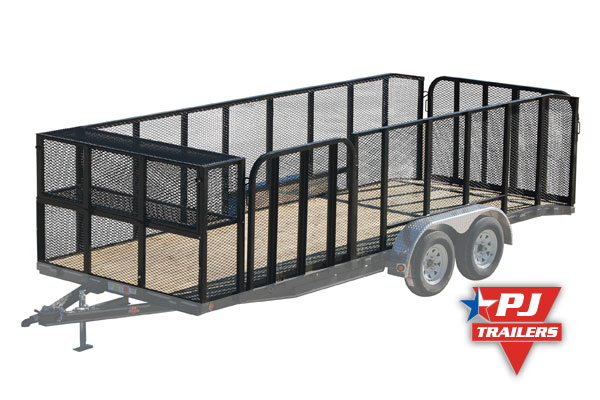 additional storage for landscape trailers