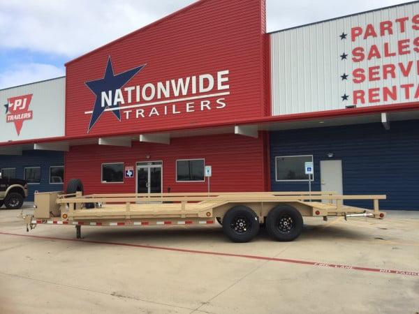 PJ Trailers Dealer Nationwide Trailers in Houston Texas