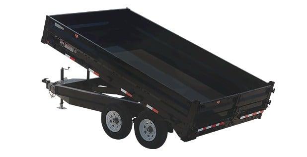 PJ shallow dump trailer