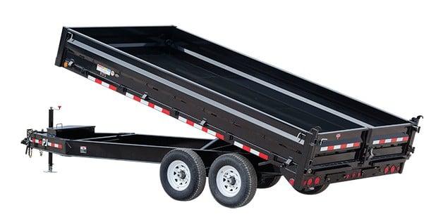 PJ deck over dump trailer