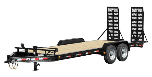 Bumper pull trailer from Nationwide Trailers