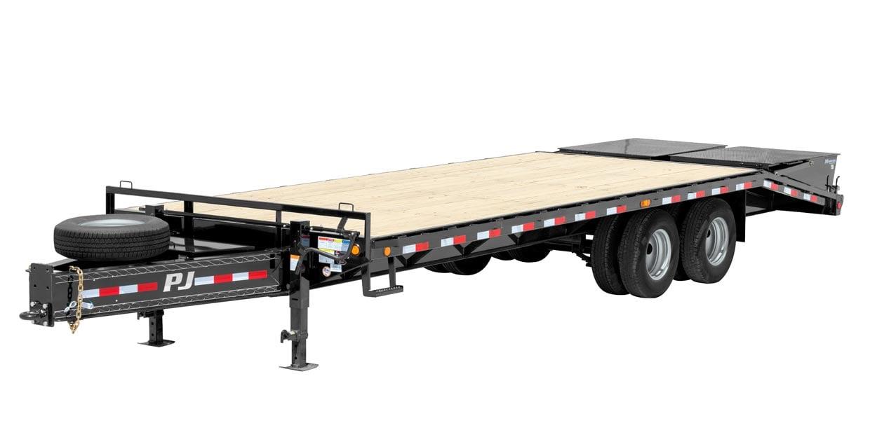 Wide PJ tilt trailer from Nationwide Trailers