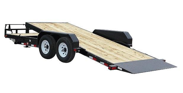 24 ft pj tilt bed trailer