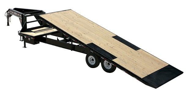 PJ Tilt trailer for easy moving