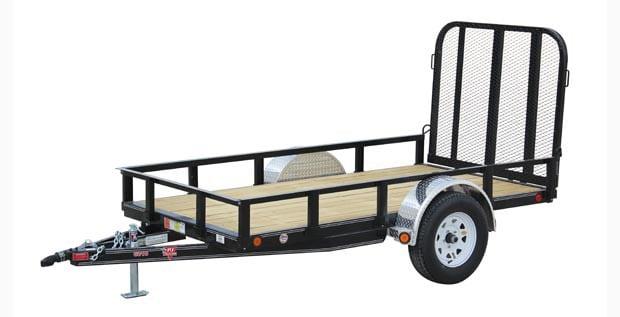 2 wheeled PJ utility trailer