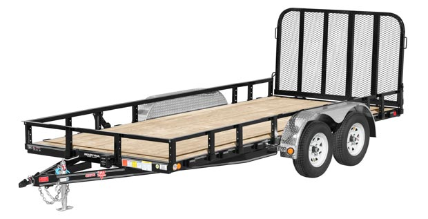 PJ Axel trailer